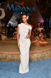 """HOLLYWOOD, CA - NOVEMBER 14: Actress Nicole Scherzinger attends The World Premiere of Disney's """"MOANA"""" at the El Capitan Theatre on Monday, November 14, 2016 in Hollywood, CA. (Photo by Alberto E. Rodriguez/Getty Images for Disney) *** Local Caption *** Nicole Scherzinger"""