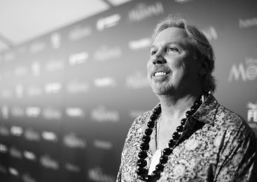 """HOLLYWOOD, CA - NOVEMBER 14: (EDITORS NOTE: Image has been shot in black and white. Color version not available.) Composer Mark Mancina attends The World Premiere of Disney's """"MOANA"""" at the El Capitan Theatre on Monday, November 14, 2016 in Hollywood, CA. (Photo by Charley Gallay/Getty Images for Disney) *** Local Caption *** Mark Mancina"""