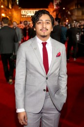 "HOLLYWOOD, CA - DECEMBER 10: Actor Tony Revolori attends The World Premiere of Lucasfilm's highly anticipated, first-ever, standalone Star Wars adventure, ""Rogue One: A Star Wars Story"" at the Pantages Theatre on December 10, 2016 in Hollywood, California. (Photo by Jesse Grant/Getty Images for Disney) *** Local Caption *** Tony Revolori"