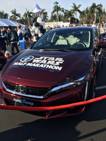 star wars half marathon pace car