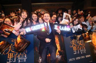 Luke Evans attended the China Premiere in Shanghai