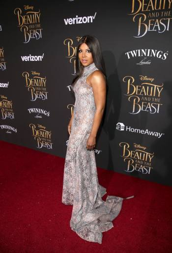 "LOS ANGELES, CA - MARCH 02: Singer Toni Braxton arrives for the world premiere of Disney's live-action ""Beauty and the Beast"" at the El Capitan Theatre in Hollywood as the cast and filmmakers continue their worldwide publicity tour on March 2, 2017 in Los Angeles, California. (Photo by Jesse Grant/Getty Images for Disney) *** Local Caption *** Toni Braxton"