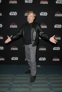 ORLANDO, FL - APRIL 13: Mark Hamill attends the 40 YEARS OF STAR WARS PANEL during the 2017 STAR WARS CELEBRATION at Orange County Convention Center on April 13, 2017 in Orlando, Florida. (Photo by Gerardo Mora/Getty Images for Disney) *** Local Caption *** Mark Hamill