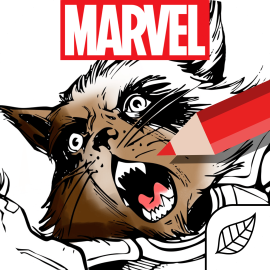 Marvel Color Your Own Icon