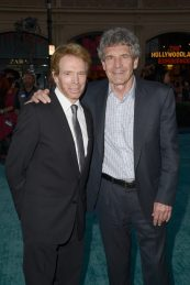 "HOLLYWOOD, CA - MAY 18: Producer Jerry Bruckheimer (L) and Chairman, The Walt Disney Studios, Alan Horn at the Premiere of Disney's and Jerry Bruckheimer Films' ""Pirates of the Caribbean: Dead Men Tell No Tales,"" at the Dolby Theatre in Hollywood, CA with Johnny Depp as the one-and-only Captain Jack in a rollicking new tale of the high seas infused with the elements of fantasy, humor and action that have resulted in an international phenomenon for the past 13 years. May 18, 2017 in Hollywood, California. (Photo by Marc Flores/Getty Images for Disney) *** Local Caption *** Jerry Bruckheimer; Alan Horn"