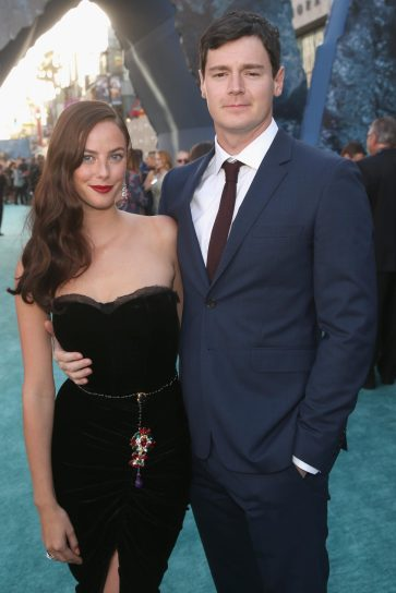 "HOLLYWOOD, CA - MAY 18: Actors Kaya Scodelario (L) and Benjamin Walker at the Premiere of Disney's and Jerry Bruckheimer Films' ""Pirates of the Caribbean: Dead Men Tell No Tales,"" at the Dolby Theatre in Hollywood, CA with Johnny Depp as the one-and-only Captain Jack in a rollicking new tale of the high seas infused with the elements of fantasy, humor and action that have resulted in an international phenomenon for the past 13 years. May 18, 2017 in Hollywood, California. (Photo by Jesse Grant/Getty Images for Disney) *** Local Caption *** Kaya Scodelario; Benjamin Walker"