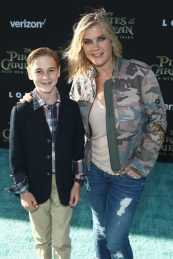 "HOLLYWOOD, CA - MAY 18: Benjamin Sanov (L) and Actor Alison Sweeney at the Premiere of Disney's and Jerry Bruckheimer Films' ""Pirates of the Caribbean: Dead Men Tell No Tales,"" at the Dolby Theatre in Hollywood, CA with Johnny Depp as the one-and-only Captain Jack in a rollicking new tale of the high seas infused with the elements of fantasy, humor and action that have resulted in an international phenomenon for the past 13 years. May 18, 2017 in Hollywood, California. (Photo by Rich Polk/Getty Images for Disney) *** Local Caption *** Benjamin Sanov; Alison Sweeney"