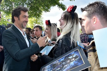 PARIS, FRANCE - MAY 14: Javier Bardem attends the European Premiere to celebrate the release of Disney's 'Pirates of the Caribbean: Salazar's Revenge' at Disneyland Paris on May 14, 2017 in Paris, France. (Photo by Kristy Sparow/Getty Images for Disney) *** Local Caption *** Javier Bardem