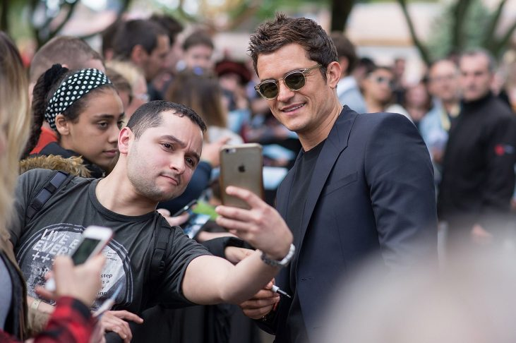 PARIS, FRANCE - MAY 14: Orlando Bloom attends the European Premiere to celebrate the release of Disney's Pirates of the Caribbean: Salazar's Revenge at Disneyland Paris on May 14, 2017 in Paris, France. (Photo by Francois Durand/Getty Images for Disney) *** Local Caption *** Orlando Bloom