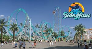 HangTime Day Time Rendering With Logo