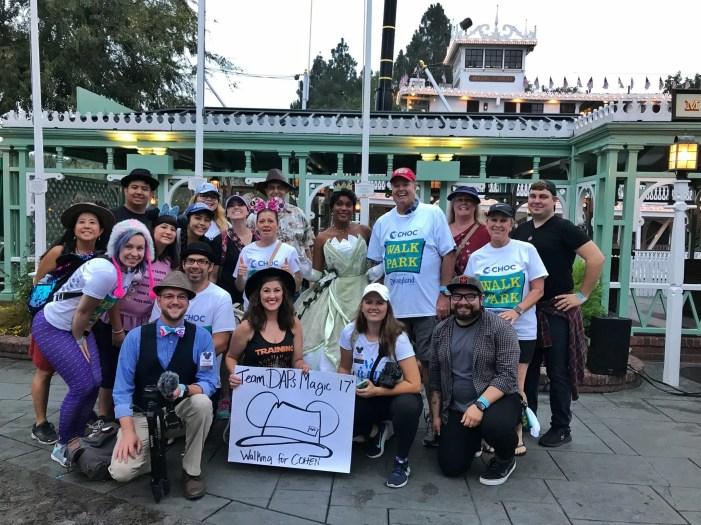 Team DAPs Magic - 2017 CHOC Walk in the Park at Disneyland