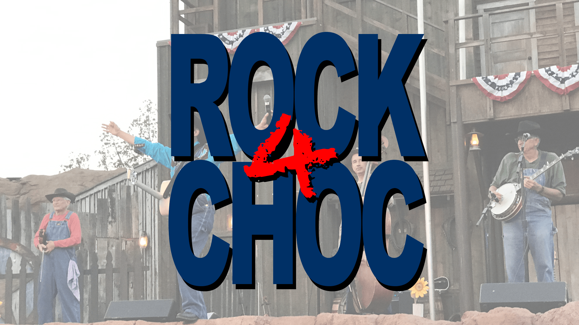 ROCK4CHOC with Krazy Kirk and the Hillbillies