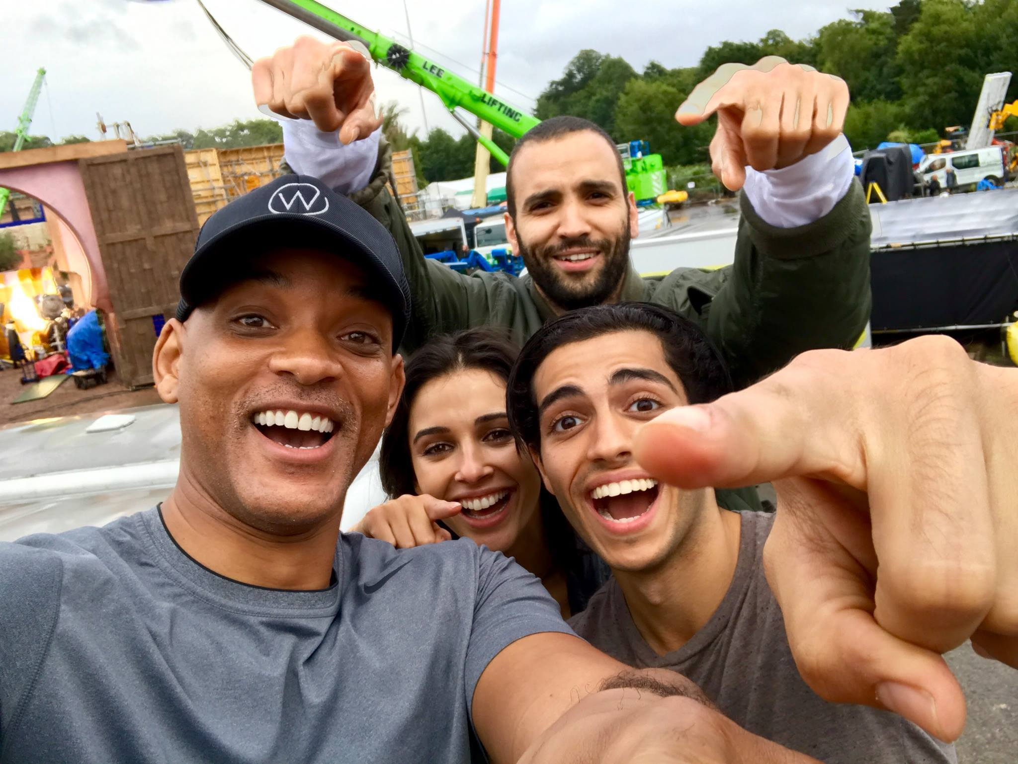 Disney's Live-Action Aladdin Cast