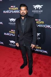 """HOLLYWOOD, CA - OCTOBER 10: Actor Adrian Dev at The World Premiere of Marvel Studios' """"Thor: Ragnarok"""" at the El Capitan Theatre on October 10, 2017 in Hollywood, California. (Photo by Rich Polk/Getty Images for Disney) *** Local Caption *** Adrian Dev"""