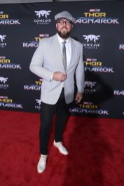 """HOLLYWOOD, CA - OCTOBER 10: Actor Chris Sullivan at The World Premiere of Marvel Studios' """"Thor: Ragnarok"""" at the El Capitan Theatre on October 10, 2017 in Hollywood, California. (Photo by Rich Polk/Getty Images for Disney) *** Local Caption *** Chris Sullivan"""