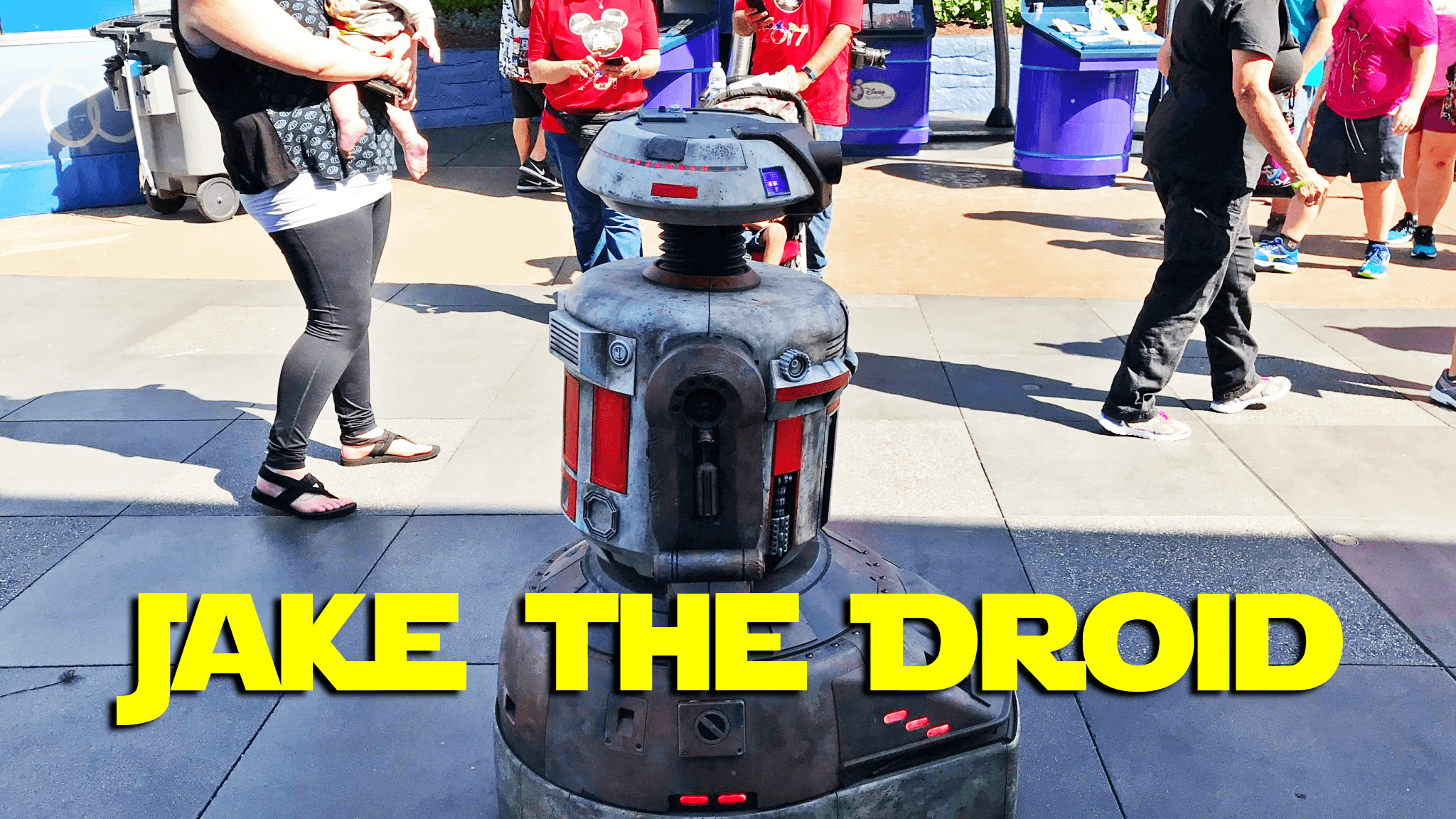 Jake the Droid at Disneyland