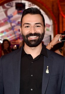 """HOLLYWOOD, CA - NOVEMBER 08: Co-Director/screenwriter Adrian Molina at the U.S. Premiere of Disney-Pixarís """"Coco"""" at the El Capitan Theatre on November 8, 2017, in Hollywood, California. (Photo by Alberto E. Rodriguez/Getty Images for Disney) *** Local Caption *** Adrian Molina"""