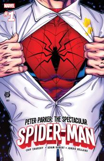 PETER PARKER THE SPECTACULAR SPIDER-MAN (2017) #1