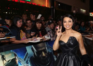 HOLLYWOOD, CA - JANUARY 29: Actor Ming-Na Wen at the Los Angeles World Premiere of Marvel Studios' BLACK PANTHER at Dolby Theatre on January 29, 2018 in Hollywood, California. (Photo by Rich Polk/Getty Images for Disney) *** Local Caption *** Ming-Na Wen