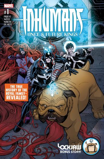 INHUMANS ONCE AND FUTURE KINGS (2017) #1
