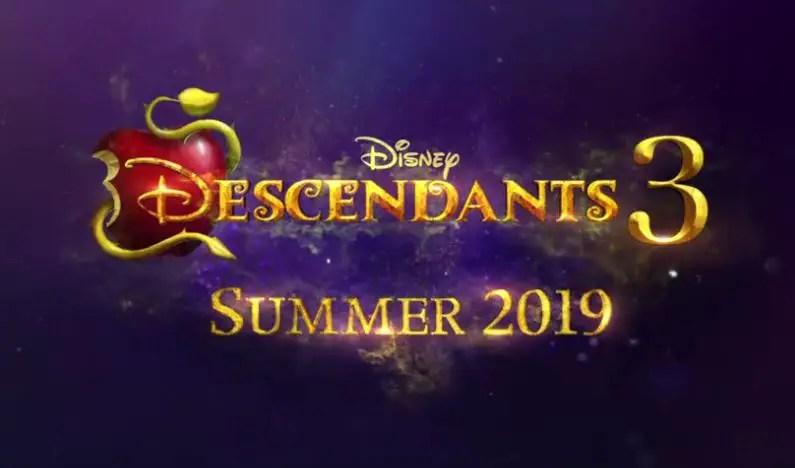 Descendants 3 Logo