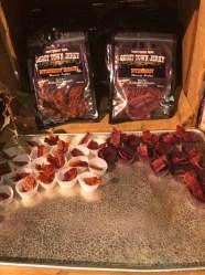 Boysenberry bacon jerky