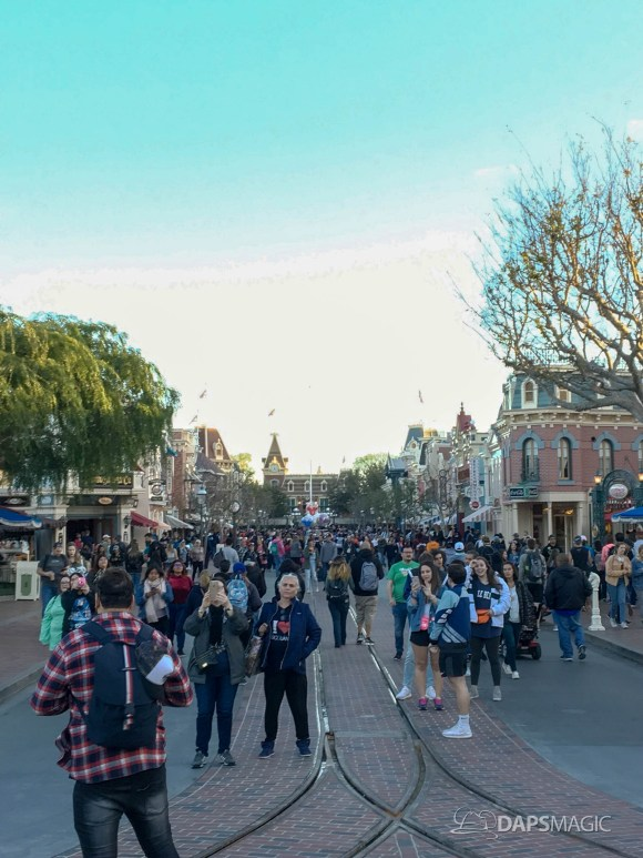 Walls Come Down on Main Street at Disneyland-6
