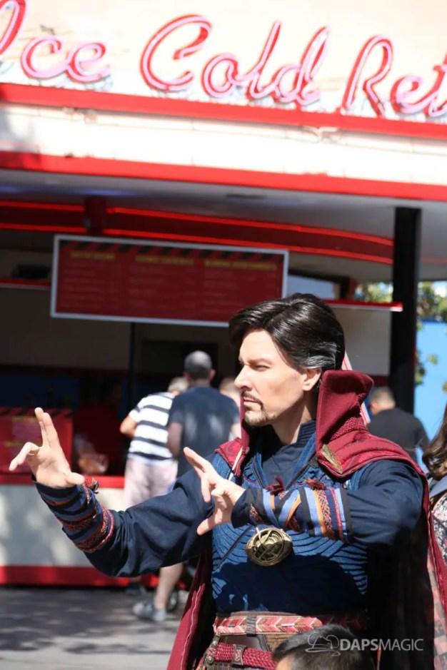 Dr. Strange Arrives at Disney California Adventure-7
