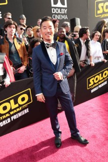 "Leonardo Nam attends the world premiere of ""Solo: A Star Wars Story"" in Hollywood on May 10, 2018. (Photo: Alex J. Berliner/ABImages)"