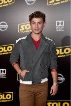 HOLLYWOOD, CA - MAY 10: Actor Garrett Clayton attends the world premiere of ìSolo: A Star Wars Storyî in Hollywood on May 10, 2018. (Photo by Alberto E. Rodriguez/Getty Images for Disney) *** Local Caption *** Garrett Clayton