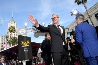 HOLLYWOOD, CA - MAY 10: Actor Paul Bettany attends the world premiere of ìSolo: A Star Wars Storyî in Hollywood on May 10, 2018. (Photo by Charley Gallay/Getty Images for Disney) *** Local Caption *** Paul Bettany