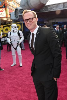 "Paul Bettany attends the world premiere of ""Solo: A Star Wars Story"" in Hollywood on May 10, 2018. (Photo: Alex J. Berliner/ABImages)"
