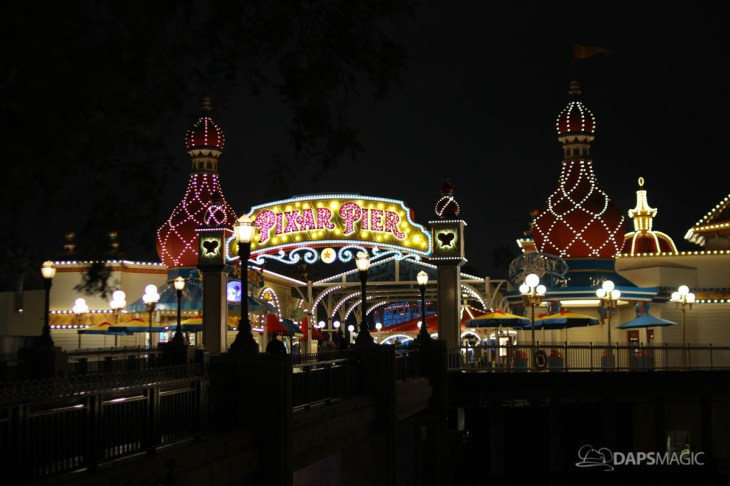 Pixar Pier Media Event - Night-50