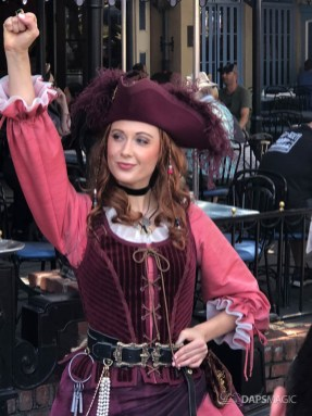 Redd the Pirate in New Orleans Square at Disneyland-3