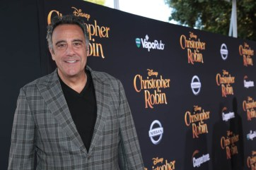 """Brad Garrett attends the world premiere of Disney's """"Christopher Robin"""" at the Main Theater on the Walt Disney Studios lot in Burbank, CA on July 30, 2018. (Photo: Alex J. Berliner/ABImages)"""