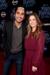 HOLLYWOOD, CA - NOVEMBER 29: Zach King (L) and Rachel King attend Disney's 'Mary Poppins Returns' World Premiere at the Dolby Theatre on November 29, 2018 in Hollywood, California. (Photo by Alberto E. Rodriguez/Getty Images for Disney) *** Local Caption *** Zach King; Rachel King