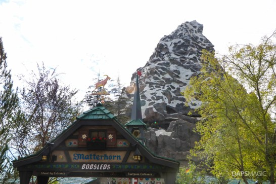 New Matterhorn Bobsleds Entrance and Queue at Disneyland-2