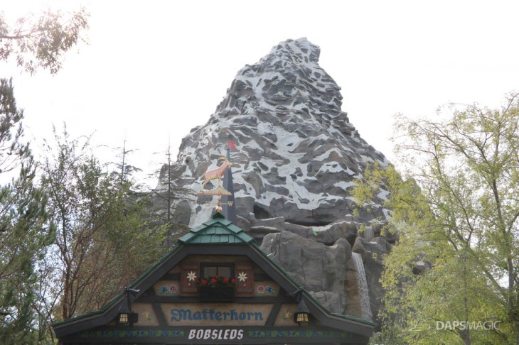 New Matterhorn Bobsleds Entrance and Queue at Disneyland-3