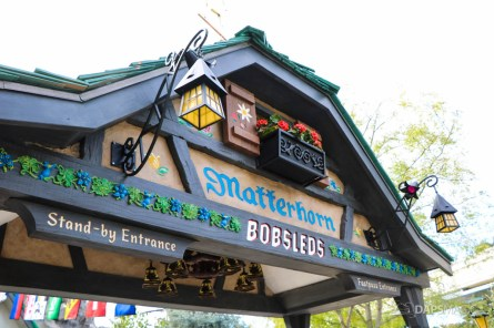 New Matterhorn Bobsleds Entrance and Queue at Disneyland-6