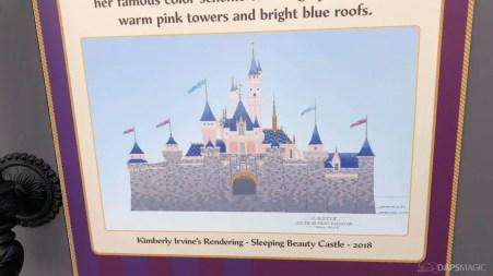 Sleeping Beauty Castle Refurbishment 2018 Disneyland