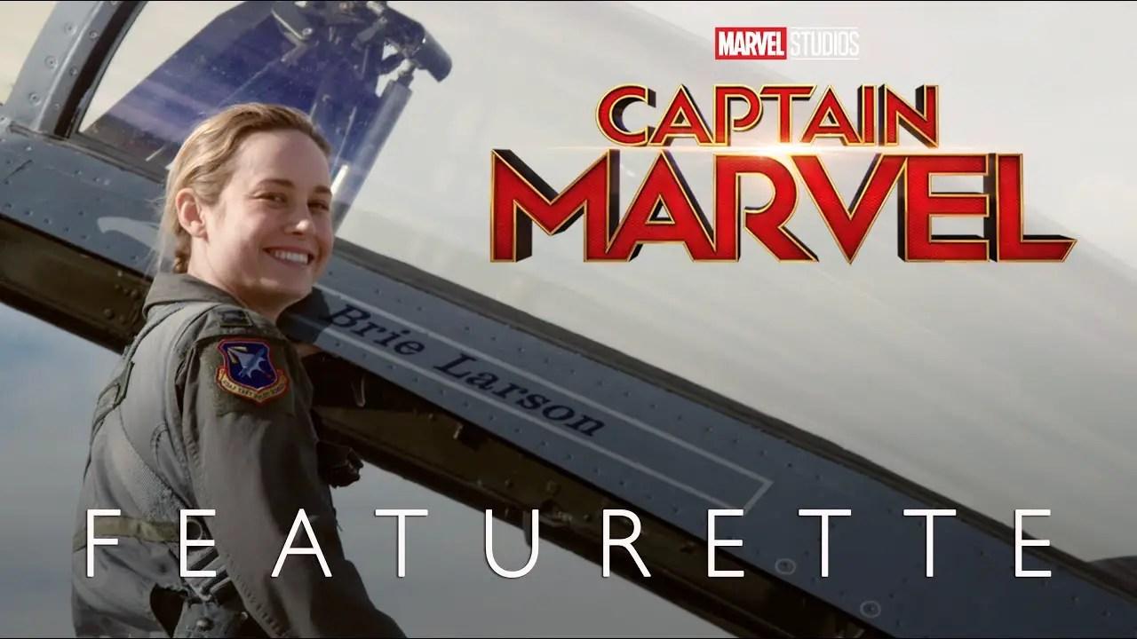 Captain Marvel Featurette