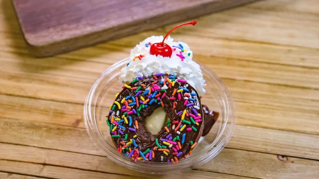 Sweetheart Donut Sundae