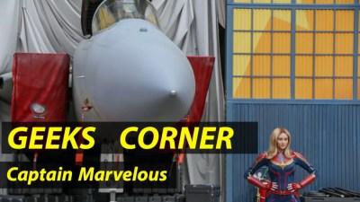 Captain Marvelous - GEEKS CORNER - Episode 924 (#442)