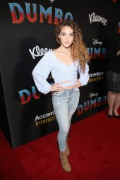 """LOS ANGELES, CA - MARCH 11: Sofie Dossi attends the World Premiere of Disney's """"Dumbo"""" at the El Capitan Theatre on March 11, 2019 in Los Angeles, California. (Photo by Jesse Grant/Getty Images for Disney) *** Local Caption *** Sofie Dossi"""