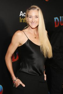 """LOS ANGELES, CA - MARCH 11: Kerri Walsh Jennings attends the World Premiere of Disney's """"Dumbo"""" at the El Capitan Theatre on March 11, 2019 in Los Angeles, California. (Photo by Jesse Grant/Getty Images for Disney) *** Local Caption *** Kerri Walsh Jennings"""