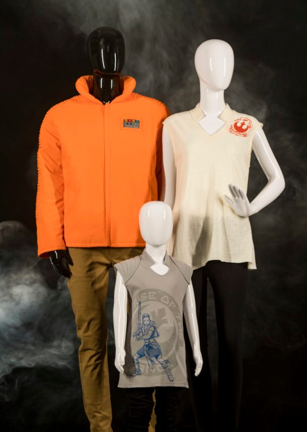 At Black Spire Outpost in Star Wars: GalaxyÕs Edge, guests wanting to showcase their loyalty to the Resistance will find gear, badges and more at Resistance Supply. Star Wars: GalaxyÕs Edge opens May 31, 2019, at Disneyland Resort in California and Aug. 29, 2019, at Walt Disney World Resort in Florida. (David Roark/Disney Parks)