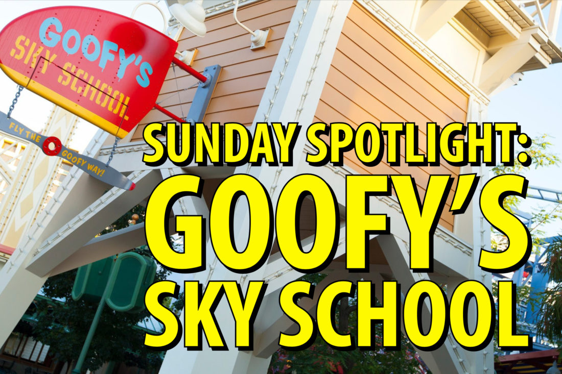 Sunday Spotlight: Goofy's Sky School