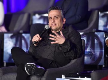 """LOS ANGELES, CA - APRIL 07: Director Joe Russo speaks onstage during Marvel Studios' """"Avengers: Endgame"""" Global Junket Press Conference at the InterContinental Los Angeles Downtown on April 7, 2019 in Los Angeles, California. (Photo by Alberto E. Rodriguez/Getty Images for Disney) *** Local Caption *** Joe Russo"""