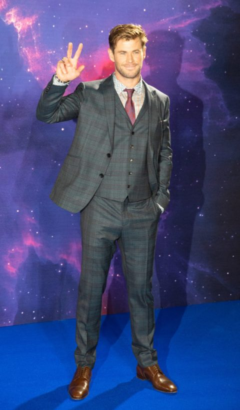 Chris Hemsworth attends the UK Fan Event to celebrate the release of Marvel Studios' 'Avengers: Endgame' at Picturehouse Central on April 10, 2019 in London, England.