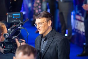 Anthony Russo attends the UK Fan Event to celebrate the release of Marvel Studios' 'Avengers: Endgame' at Picturehouse Central on April 10, 2019 in London, England.